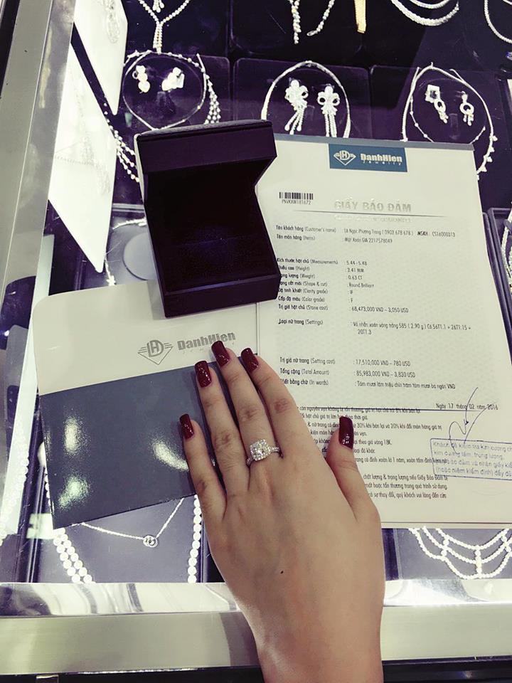 Angela Phương Trinh để lộ hóa đơn mua đồ gần trăm triệu 3