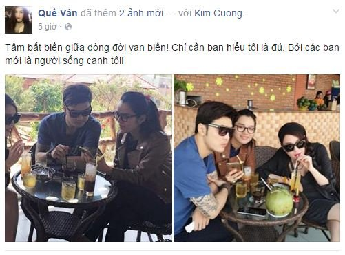 Facebook sao Việt: Phạm Hương rạng rỡ trên đất Thái 2