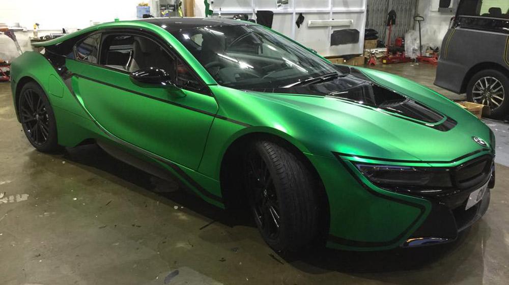 Đổi màu sơn ôtô cần làm thủ tục gì? 1