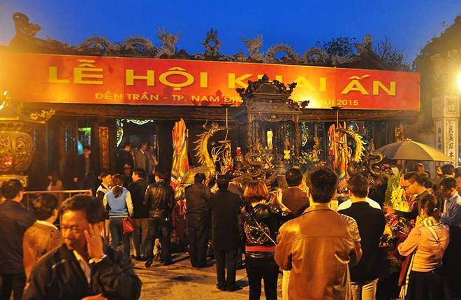 Ấn đền Trần sẽ phát vào sáng ngày 15 tháng Giêng 1