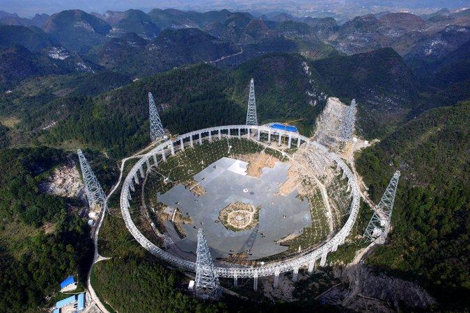 Trung Quốc di dời 9.000 dân để dựng kính thiên văn lớn nhất thế giới 1