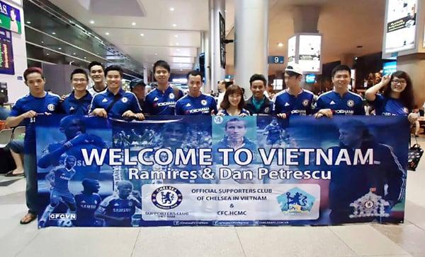 CĐV Chelsea tại Việt Nam đón hụt Ramires sang đấu với Bình Dương 1