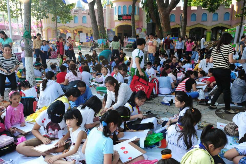 Hình ảnh TP Hồ Chí Minh tổ chức triển lãm lớn về áo dài qua các thời kỳ số 5