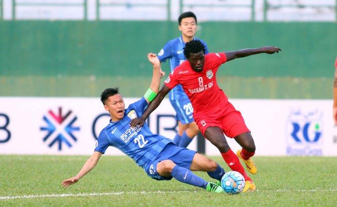 Ramires mờ nhạt, Jiangsu Suning bị B.Bình Dương cầm hòa 2