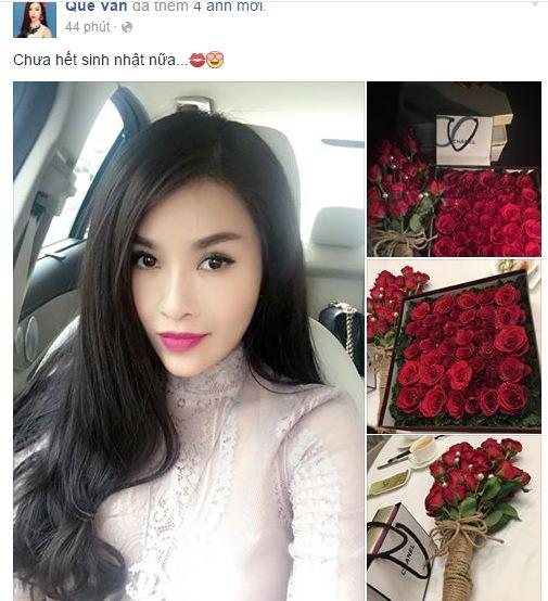 Facebook sao Việt: Bằng Kiều thân mật với bạn gái 10