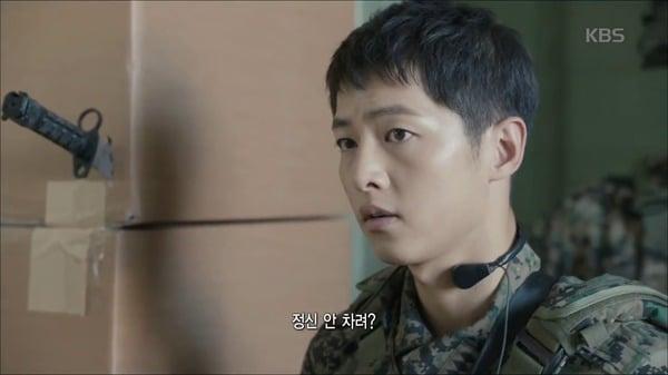 Hậu Duệ Mặt Trời tập 2: Song Joong Ki nói lời tạm biệt Song Hye Kyo sau buổi hẹn hò đầu tiên 1