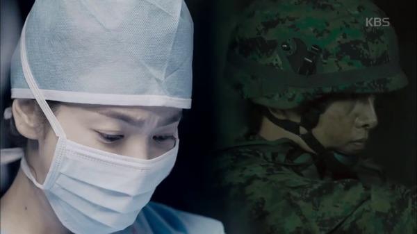Hậu Duệ Mặt Trời tập 2: Song Joong Ki nói lời tạm biệt Song Hye Kyo sau buổi hẹn hò đầu tiên 3