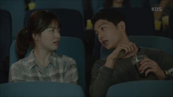 Hậu Duệ Mặt Trời tập 2: Song Joong Ki nói lời tạm biệt Song Hye Kyo sau buổi hẹn hò đầu tiên 6