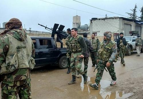 Quân đội Syria đẩy mạnh chiến dịch tấn công ở Darayya 1