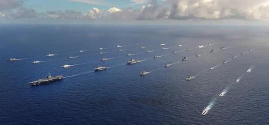 Bất chấp căng thẳng tại Biển Đông, Trung Quốc gửi tàu chiến tập trận với hải quân Mỹ 2