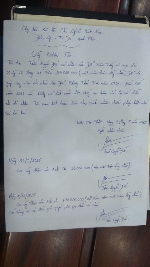 Đắk Lắk: Phó chánh thanh tra Sở bị nhiều người đòi nợ sau khi xin nghỉ việc 1