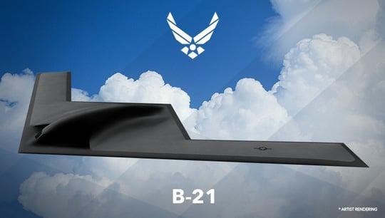 Pháo đài bay tàng hình thế hệ mới của Mỹ  2