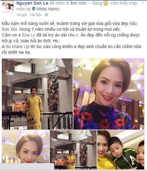 Facebook sao Việt: Nhan sắc 'một chín, một mười' của chị em Nhã Phương 9
