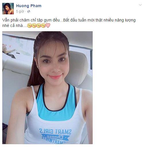 Facebook sao Việt: Nhan sắc 'một chín, một mười' của chị em Nhã Phương 5