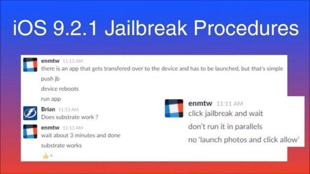Bất ngờ  iOS 9.2/9.2.1/9.3 sắp được Jailbreak 1