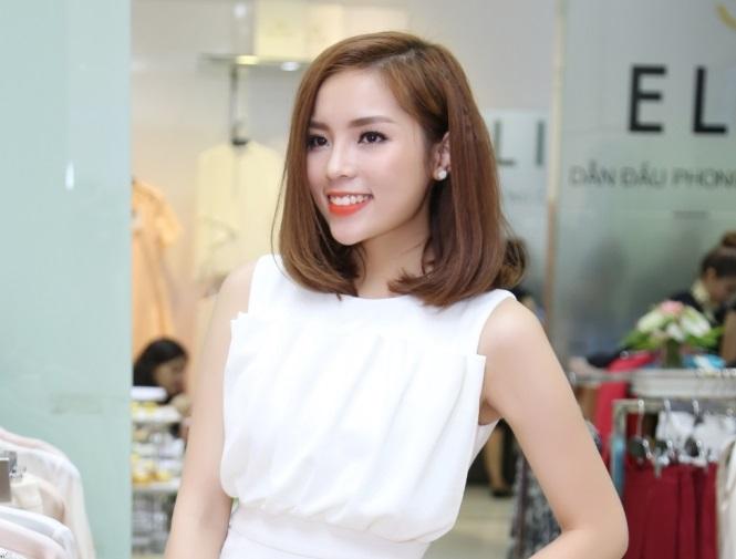 Hoa hậu Kỳ Duyên lạ mắt với phong cách mới khi Nam Tiến 2