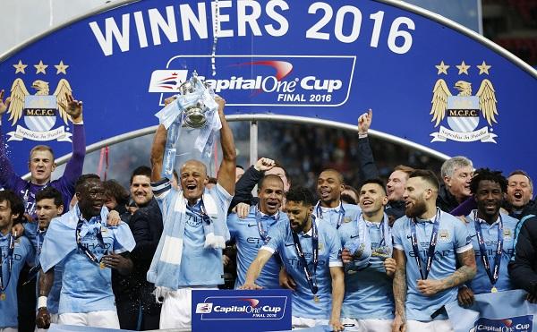 Đánh bại Liverpool trên chấm 11m, Man City vô địch Cúp Cup Liên đoàn Anh 2