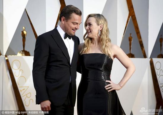 'Cặp đôi Titanic' Leonardo - Kate tái ngộ trên thảm đỏ Oscar 2016 3