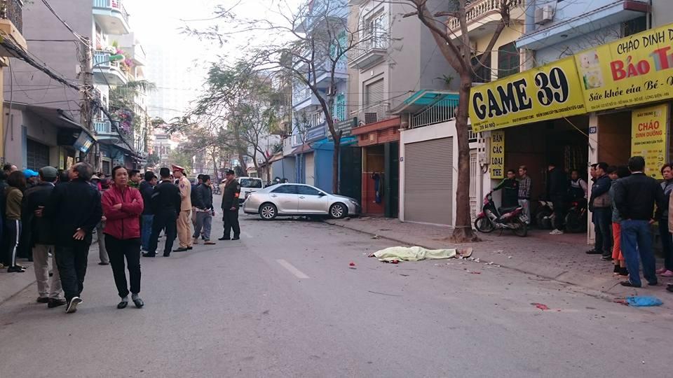 Hiện trường vụ xe Camry gây tai nạn liên hoàn, 3 người thương vong 2