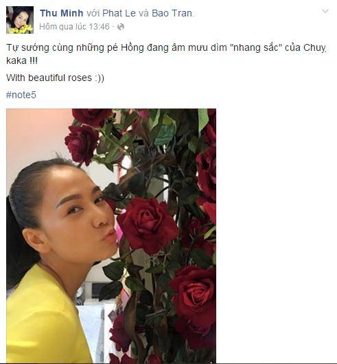 Facebook sao Việt: Nhan sắc 'một chín, một mười' của chị em Nhã Phương 11