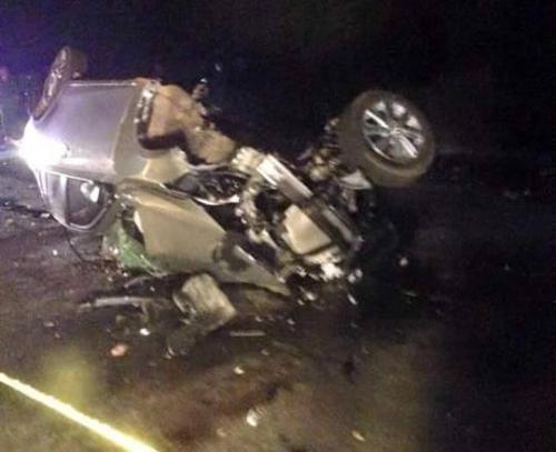 Tai nạn thảm khốc ở Hà Giang: 2 xe con tông nhau 4 người chết 1