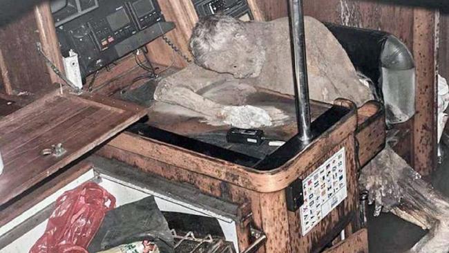 Phát hiện xác khô trên du thuyền trôi dạt ngoài biển 1
