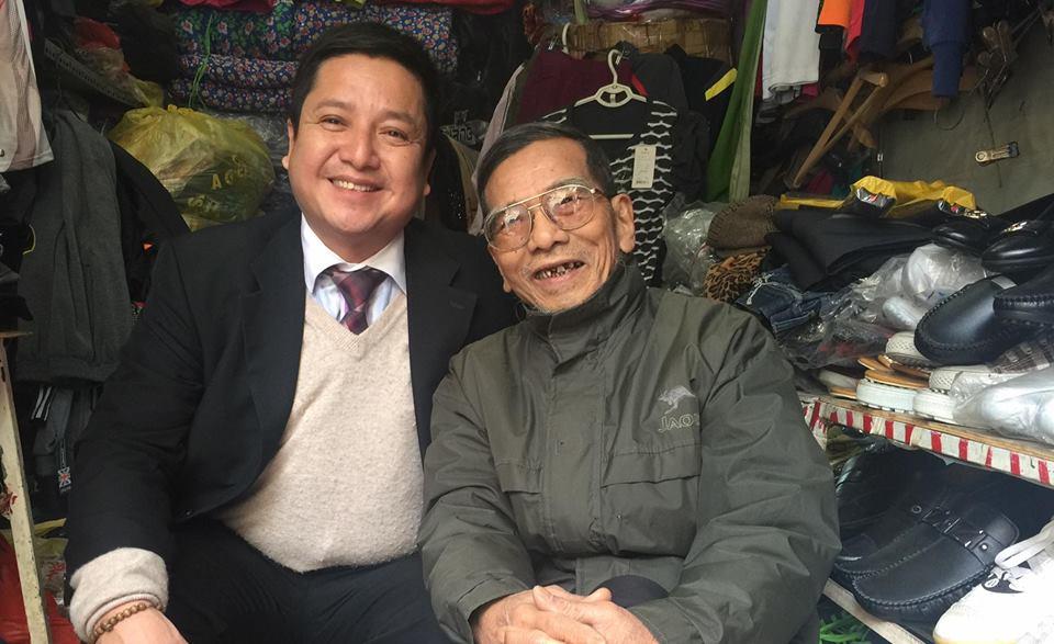 Chí Trung xót xa trước cuộc sống về già khốn khó của NSƯT Trần Hạnh 1