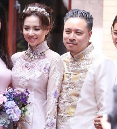 Victor Vũ tung clip cô dâu Đinh Ngọc Diệp đẹp lộng lẫy  1