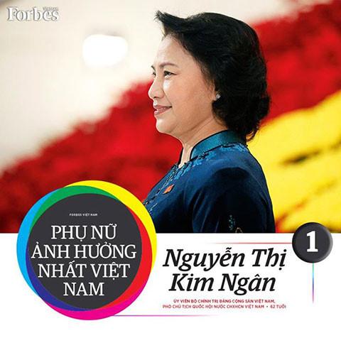 Chân dung người phụ nữ ảnh hưởng nhất Việt Nam 1