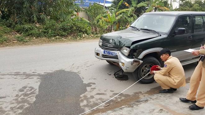 Xe biển xanh gây tai nạn chết người ở Hưng Yên 1