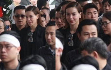Hà Hồ bị ném đá khi mỉm cười trong tang lễ nhạc sĩ Lương Minh 1