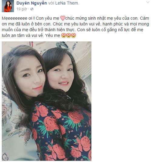 Facebook sao Việt: Khánh Thi chia sẻ cảm xúc về tình cũ 2