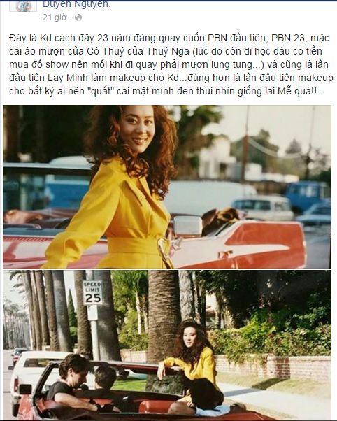 Facebook sao Việt: Khánh Thi chia sẻ cảm xúc về tình cũ 8