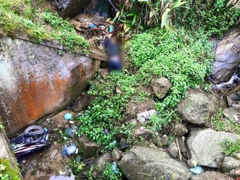 Phát hiện thi thể nam thanh niên dưới khe suối ở Sa Pa 1