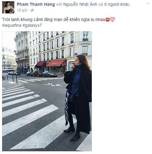 Facebook sao Việt: Khánh Thi chia sẻ cảm xúc về tình cũ 12