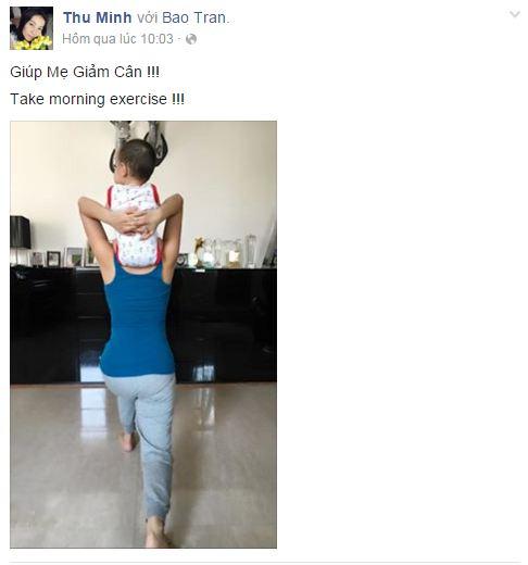 Facebook sao Việt: Khánh Thi chia sẻ cảm xúc về tình cũ 13