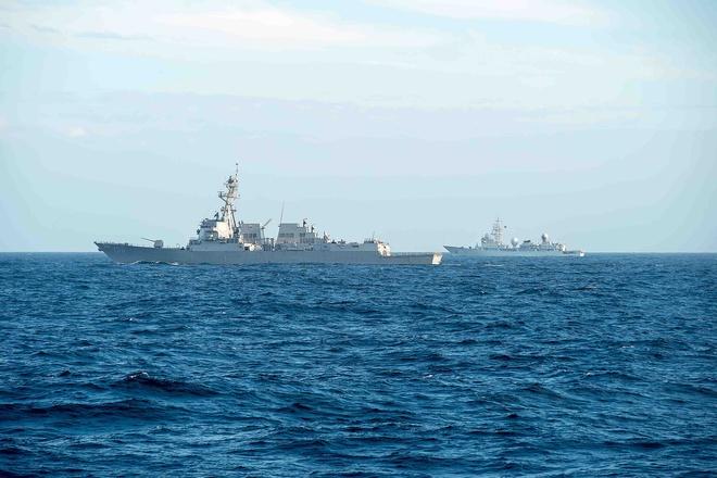 Chùm ảnh: Nhóm tàu sân bay Mỹ tuần tra trên Biển Đông 4