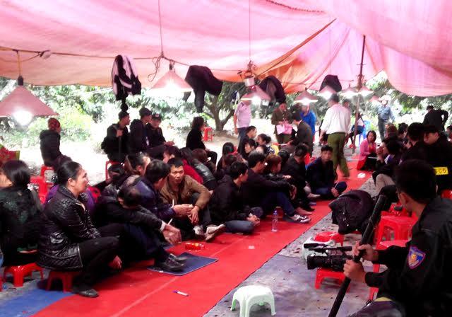 """Công an Quảng Ninh thông tin về vụ bắt sới bạc """"khủng"""" 3"""