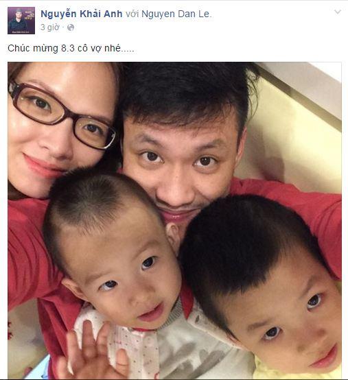 Facebook sao Việt: Những lời chúc mừng ngày 8/3 của sao Việt nhé 4