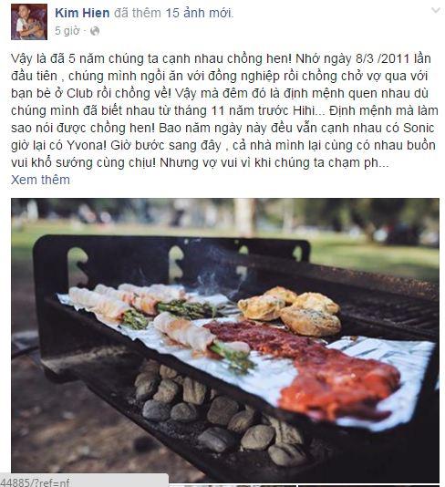 Facebook sao Việt: Những lời chúc mừng ngày 8/3 của sao Việt nhé 11