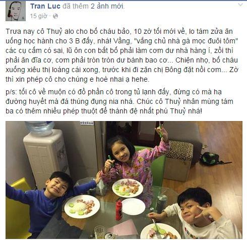Facebook sao Việt: Những lời chúc mừng ngày 8/3 của sao Việt nhé 22
