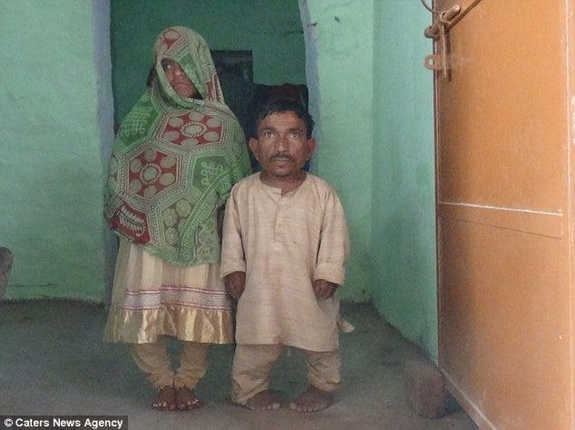 Đám cưới hy hữu của cặp đôi thấp nhất thế giới 2