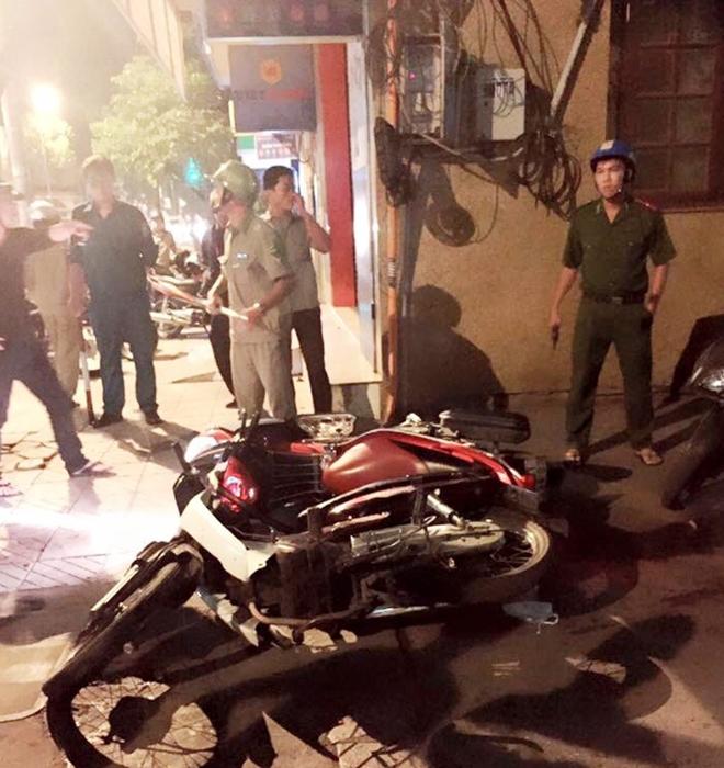 Cướp xe máy của nạn nhân bị tai nạn giao thông 1