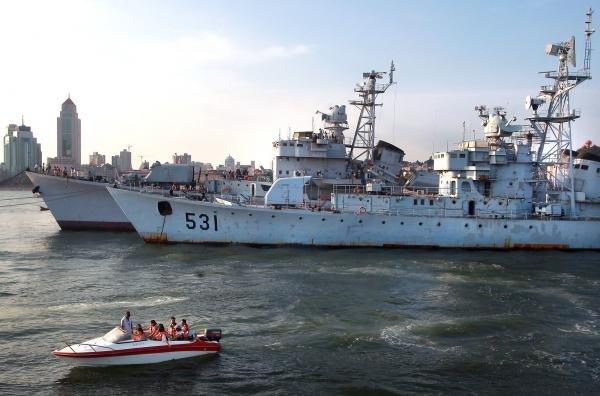 Trung Quốc cấm tàu Triều Tiên rời cảng 1