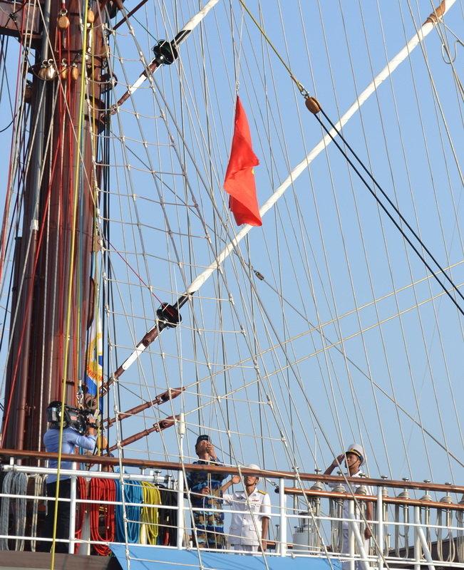 Hình ảnh tàu buồm hiện đại nhất thế giới trong ngày thượng kỳ 2