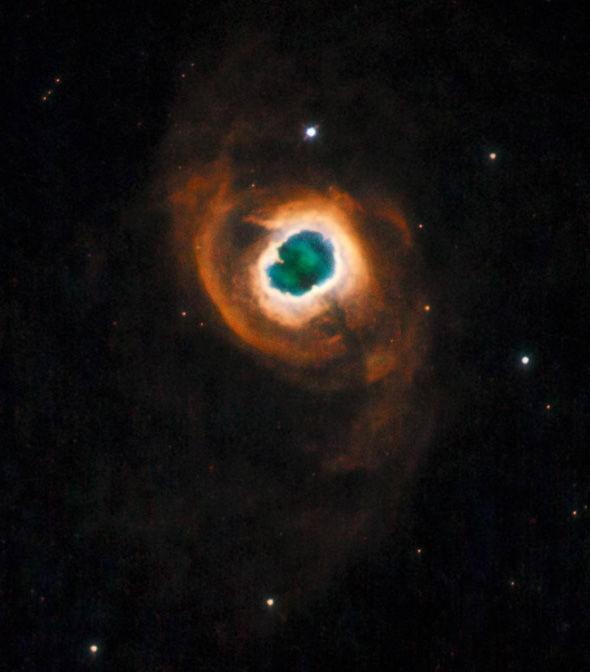 Viễn cảnh Trái Đất bị hủy diệt qua kính viễn vọng Hubble 1