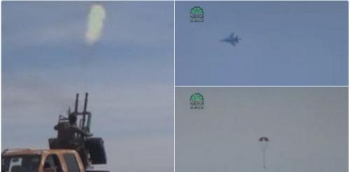 Quân nổi dậy công bố video bắn rơi MiG-21 của quân đội Syria 3
