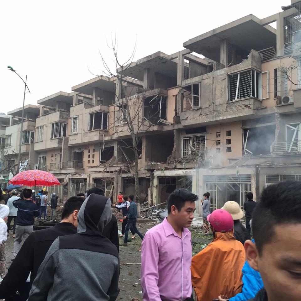 Nguyên nhân ban đầu vụ nổ lớn ở Hà Đông khiến 4 người tử vong 1