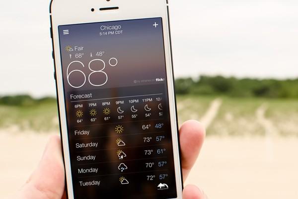 5 ứng dụng giúp bạn cập nhật thời tiết 'chuẩn không cần chỉnh' 1