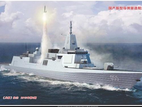 Tiết lộ dàn vũ khí khủng trên tàu khu trục 'lớn nhất châu Á' của Trung Quốc 1